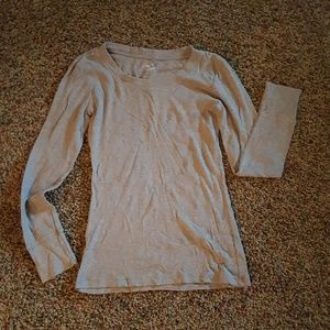GAP supersoft light brown/tan long sleeve